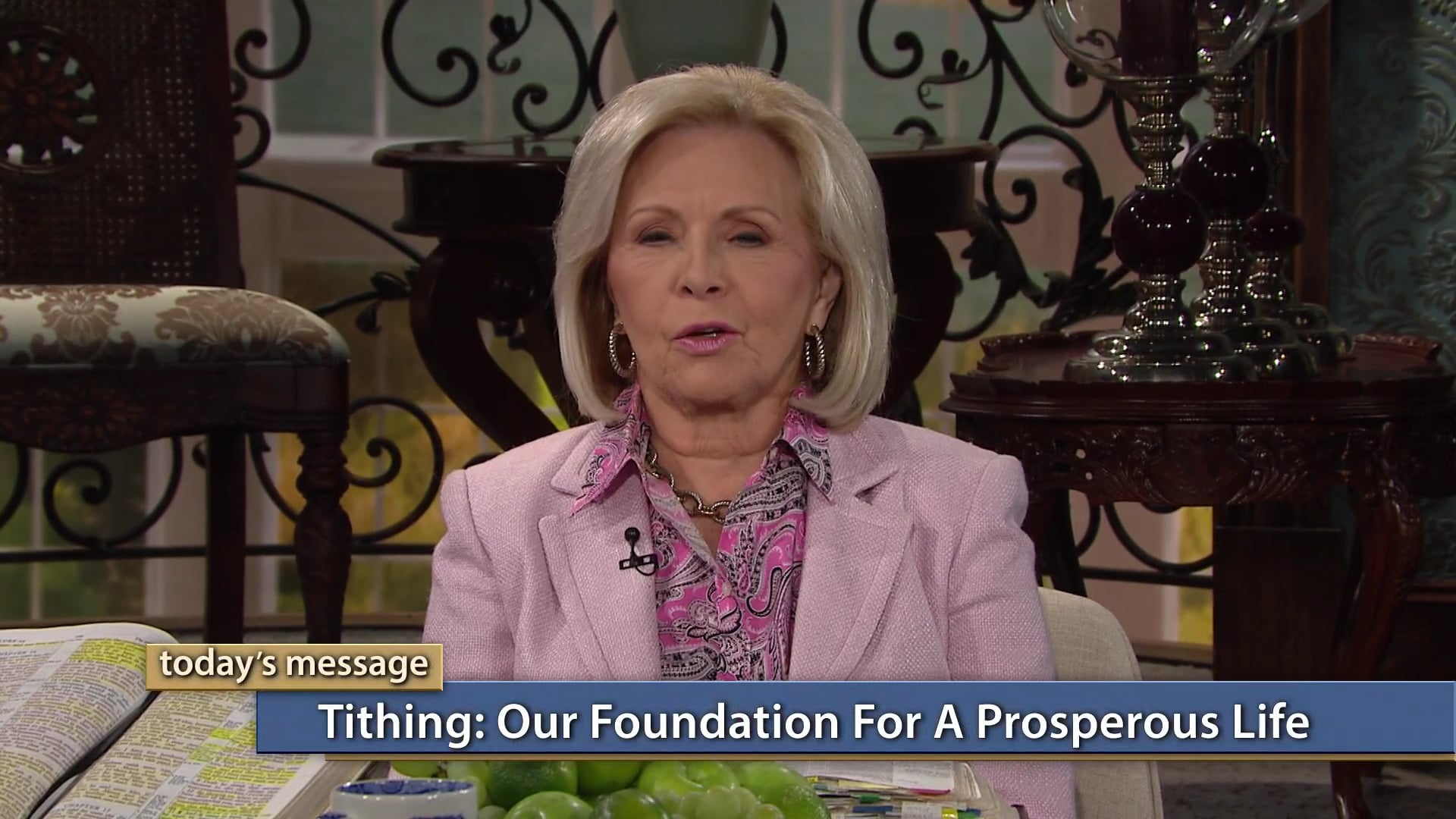 Tithing is our foundation for a prosperous life! Join Gloria Copeland and George Pearsons on Believer's Voice of Victory, as they share how to pass the money test to walk in abundance. Learn what God has instructed about money and how you can walk in obedience to His WORD to unlock financial blessings!
