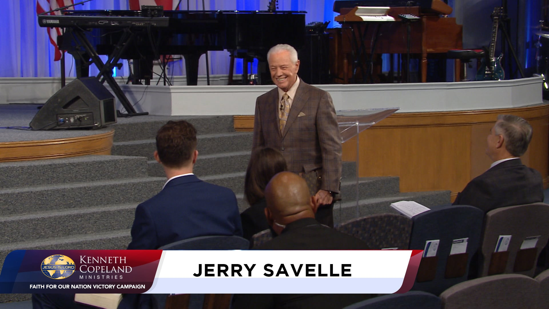 At the 2020 Faith for Our Nation VICTORY Campaign, Jerry Savelle shares what it will take to experience the Year of Abundant Overflow in 2021. Everything begins with vision on the inside of you. The power to comprehend the vision begins with time in God's Word and a revelation of how much He loves you!
