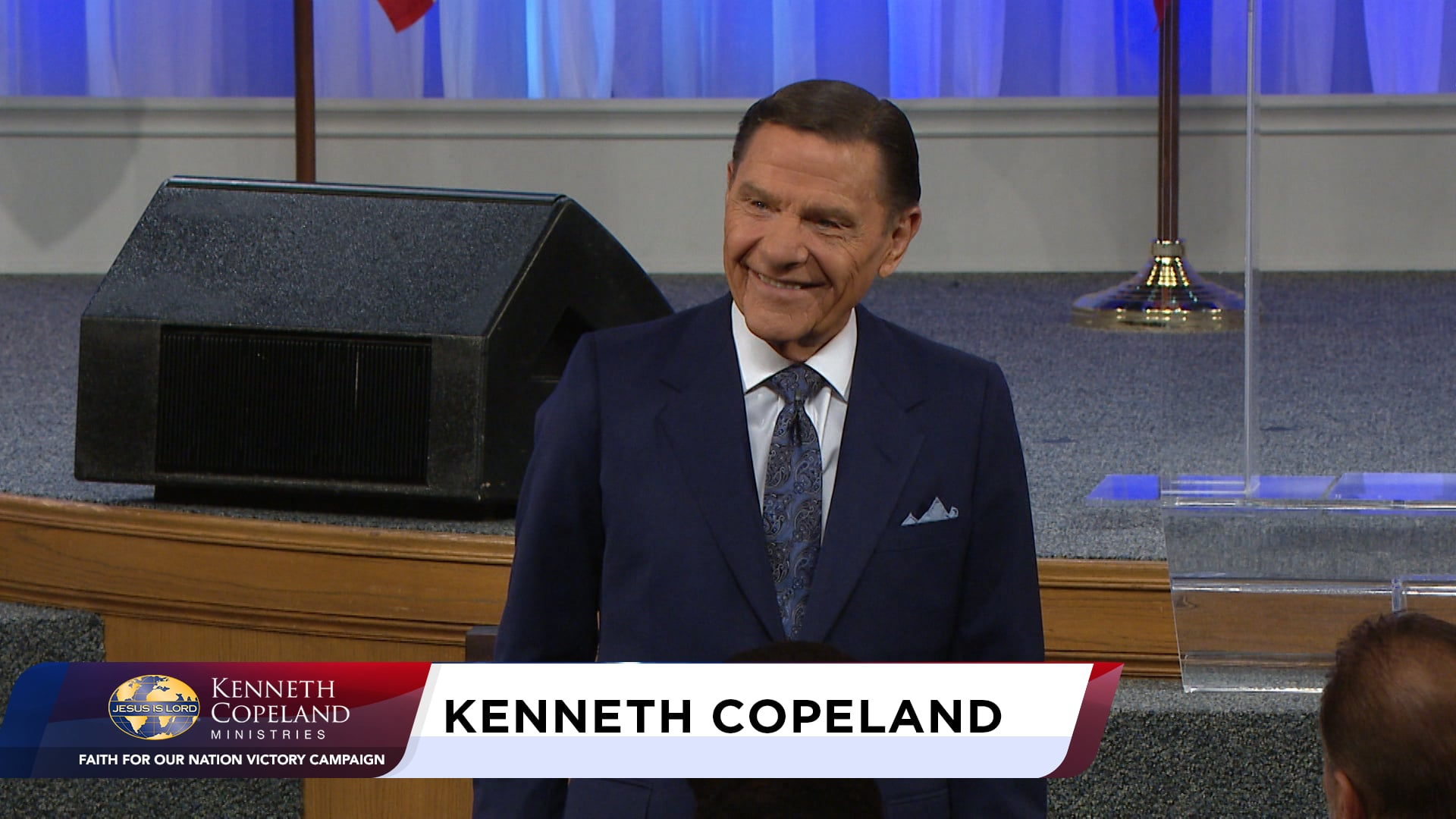 At the 2020 Faith for Our Nation VICTORY Campaign, Kenneth Copeland encourages believers to learn how to listen for the Holy Spirit's direction in everything. It can be a matter of life and death. You haven't finished praying until you listen! Learn here how to listen to God and stop your own thinking.