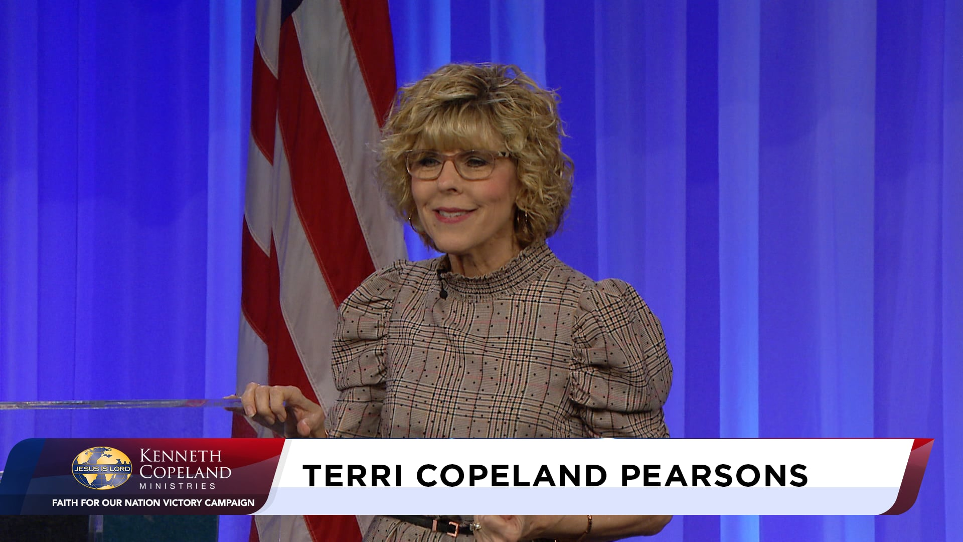 At the 2020 Faith for Our Nation VICTORY Campaign, Terri Copeland Pearsons and her guest, Ps. Gene Bailey, discuss the need for a revelation of God in the hearts of people everywhere resulting in revival. Prayers are offered for a global increase of intimacy with God that changes people, things and nations.