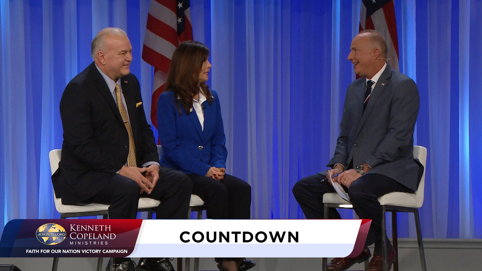 Join Tim Fox, with Kiley Kjellstrom, at the 2020 Faith for Our Nation VICTORY Campaign, as she shares her powerful healing testimony. Dr. Tony Erby and student, Mara Jade Pope, give KCBC updates. Meet Partners, Lance and Barbara McCune. She is a KCM staff member and he is a liaison for the Church in political arenas.