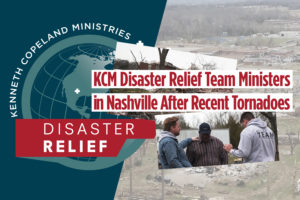 KCM Disaster Relief Team Ministers in Nashville Following Tornadoes
