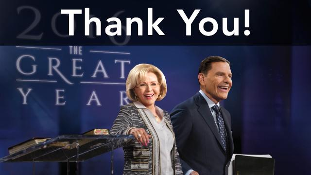 Enjoy watching this special partnership message during the 2017 Branson Victory Campaign as Kenneth Copeland shares exciting events that are taking place at Kenneth Copeland Ministries.