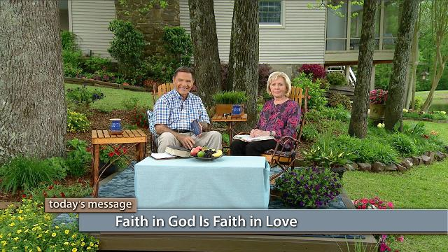 God is Love—to have faith in Him is to have faith in Love. Watch Kenneth and Gloria Copeland on Believer's Voice of Victory as they explain how a revelation of God's love will increase your faith.