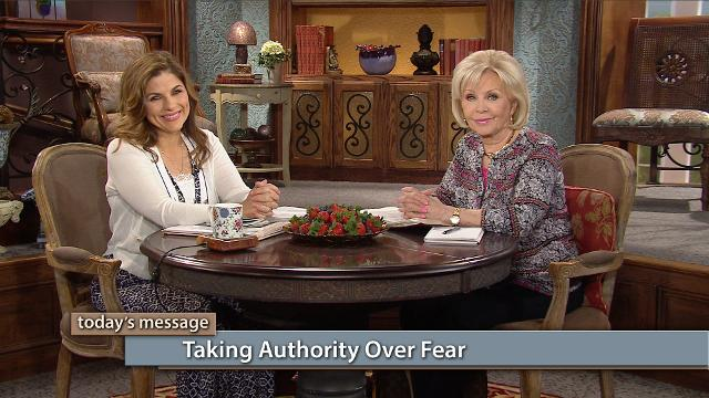 You don't have to tolerate fear! Watch Gloria Copeland and Kellie Copeland on Believer's Voice of Victory as they explain how God exposes fear in our lives so we can take authority over the strategies of the devil.
