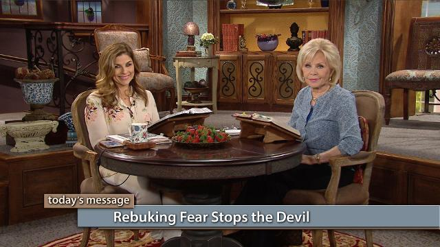 Are you ready to shut the door on the devil? You can! Watch Gloria Copeland and Kellie Copeland on Believer's Voice of Victory as they explain how fear opens the door to the attacks of the devil, but casting down and rebuking fear will set you free!