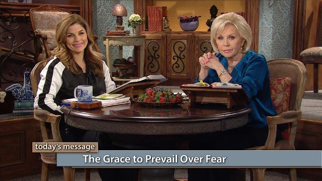 You can prevail over fear! Watch Gloria Copeland and Kellie Copeland on Believer's Voice of Victory as they explain how Jesus has given us the grace to overcome every fear. When you refuse worry and roll your cares over on Him, you will prevail!