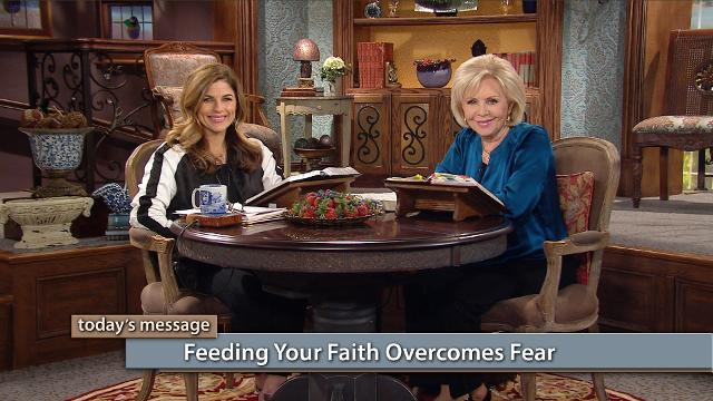 Watch Gloria Copeland and Kellie Copeland on Believer's Voice of Victory as they share how feeding your spirit with the Word of God will overcome any kind of fear. Walk free with the God kind of faith today!