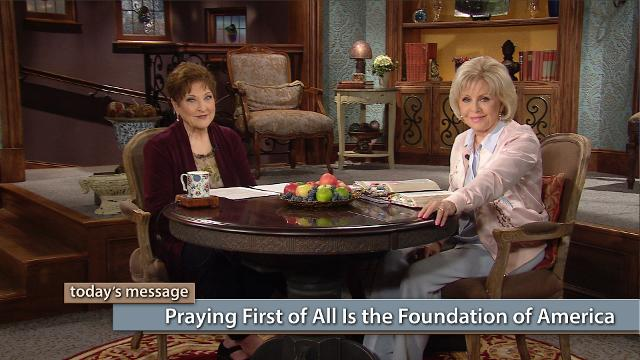 Watch Gloria Copeland and Billye Brim on Believer's Voice of Victory as Billye shares the strong foundation of prayer in America and how those with a vision for this nation started their journey with prayer—first of all.