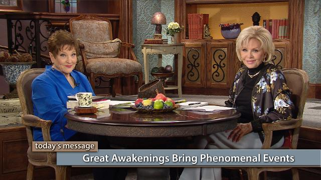 Do you long for the power of God to come upon America in a mighty way? Watch Gloria Copeland and Billye Brim on Believer's Voice of Victory as they share about the events that take place during a prayer-induced awakening.