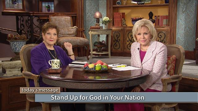 Stand up for God's Word in your nation! Watch Gloria Copeland and Billye Brim on Believer's Voice of Victory share history about the Great Awakening in America and the Black Robe Regiment, which didn't back down from God's Word.