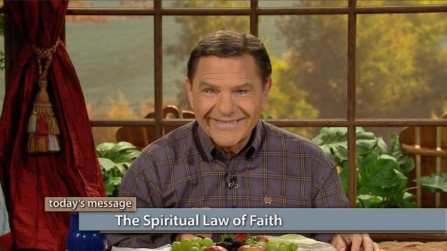 Watch Kenneth Copeland on Believer's Voice of Victory explain how faith works by spiritual law. Unforgiveness breaks spiritual law and blocks the force of faith. Learn to forgive, and open the force of faith in your life!