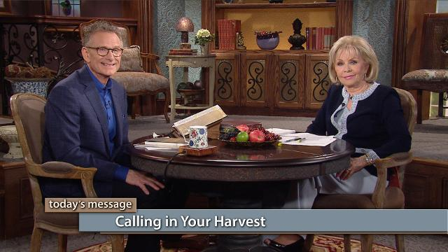 Are you a tither and a sower? It's time to call in your harvest! Watch Gloria Copeland and Pastor George Pearsons on Believer's Voice of Victory as they explain the importance of learning how to reap your harvest, rather than just waiting for it to come into your life.