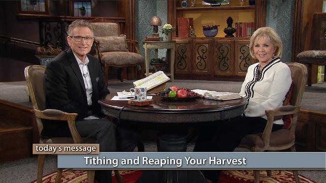 Watch Gloria Copeland and Pastor George Pearsons on Believer's Voice of Victory as they share about the connection between tithing and reaping your harvest. When you honor God with your tithe, you are in position for a great harvest!