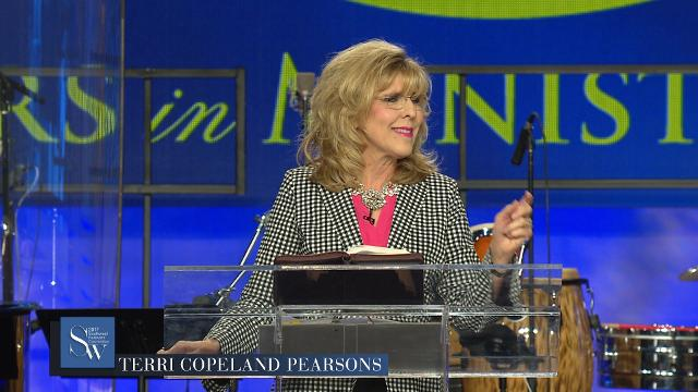 Lift up and magnify the Name of Jesus as you join with Terri Copeland Pearsons for Monday evening, pre-service prayer.