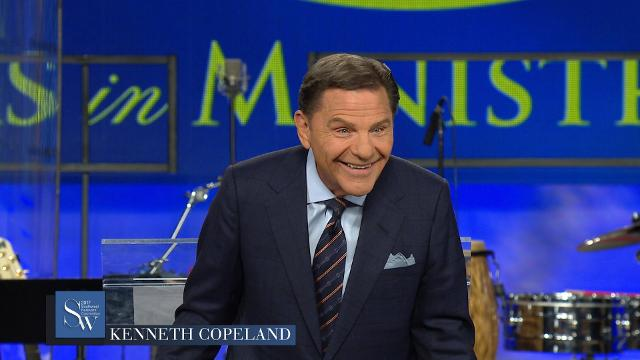 Kenneth Copeland teaches how sowing a financial seed can raise your income, during the Monday evening offering messge at the 2017 Southwest Believers' Convention.