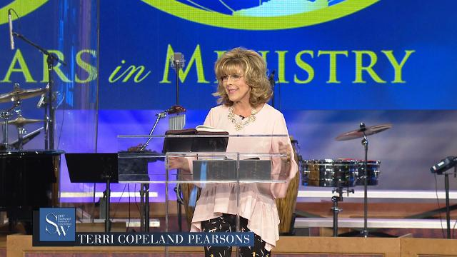 Bring your supply of the Spirit as you pray with Terri Copeland Pearsons during the Tuesday morning, pre-service prayer session.