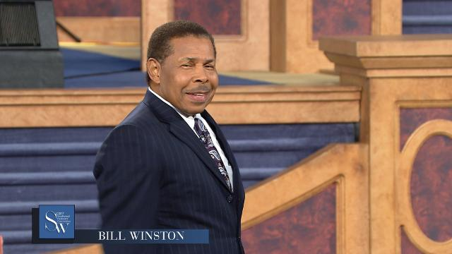 Bill Winston shares a message on restoring the years and developing strong faith, Tuesday afternoon at the 2017 Southwest Believers' Convention.