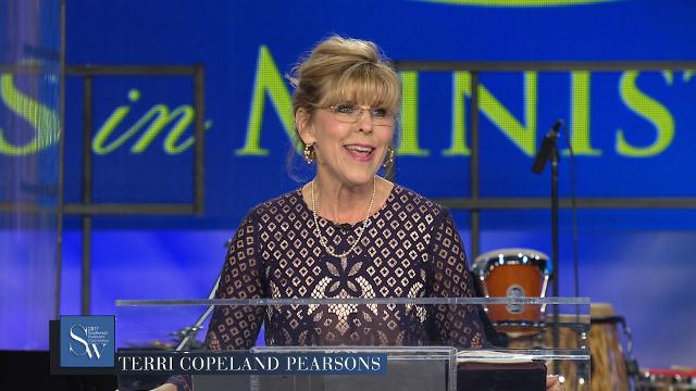 Enjoy being a part of praying with Terri Copeland Pearsons during Wednesday evening, pre-service prayer at the 2017 Southwest Believers' Convention.
