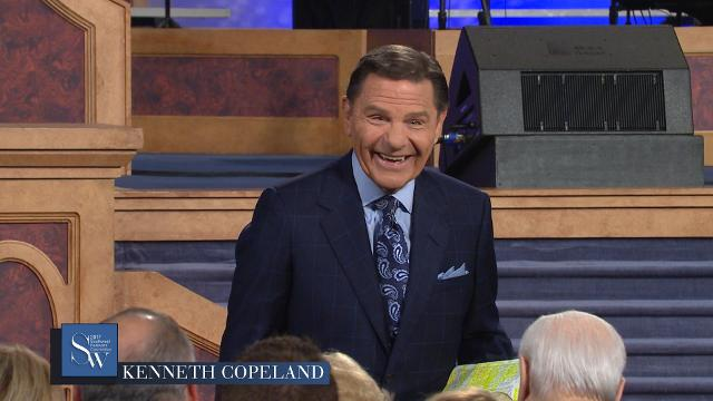 Kenneth Copeland shares a message on having the anointing to do greater works for God, during the 2017 Southwest Believers' Convention.