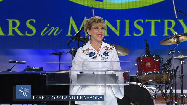 As you pray with Terri Copeland Pearsons during Saturday morning pre-service prayer, bring a supply of compassion and faith from the Spirit. Join her during the 2017 Southwest Believers' Convention.