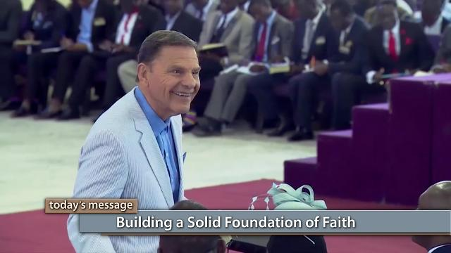 Do you want a life that is built to last? Watch Kenneth Copeland on Believer's Voice of Victory as he explains how a solid foundation is not built on hard work or personality, but on the rock of faith in The WORD of God and His love.