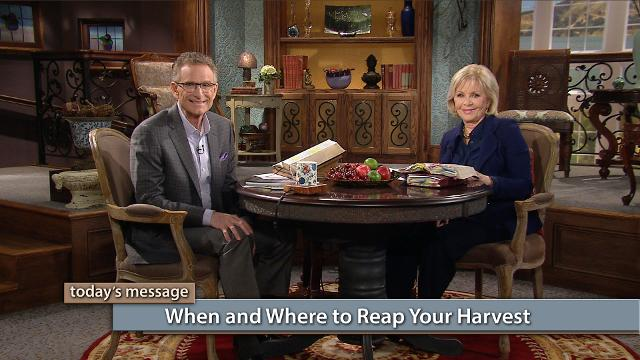 Watch Gloria Copeland and Pastor George Pearsons on Believer's Voice of Victory as they share the importance of being in tune with God to receive His instructions for reaping your harvest. You can live in your harvest every day!