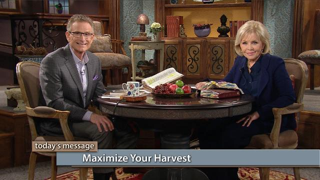Watch Gloria Copeland and Pastor George Pearsons on Believer's Voice of Victory as they discuss the principles of sowing and how to reap your maximum harvest. You can start reaping your harvest today!
