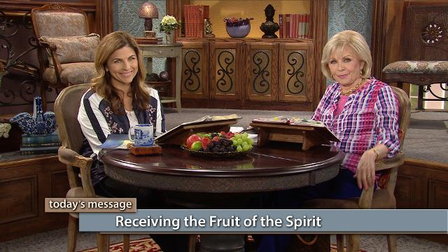 The fruit of the spirit are more than an illustrated mug or book. They are spiritual forces that come out of our oneness with God. Watch Gloria Copeland and Kellie Copeland on Believer's Voice of Victory to hear how focusing on Jesus results in an explosion of His power in your life…fruit!