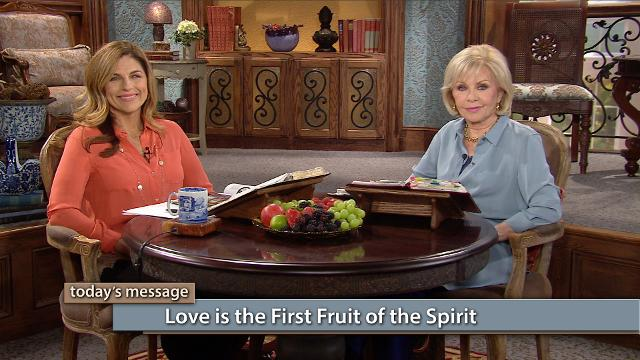 "Your fullest expression of fruit starts with love. As Gloria Copeland says, ""If your faith's not working, check your love life."" Watch Gloria Copeland and Kellie Copeland on Believer's Voice of Victory as they explore yielding to love, and Love Himself, first. And the rest of your fruit will follow."