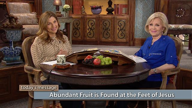 Our life in God is a growth process. Like the fallen branch of a tree, when we fall, our God will bring us up to Himself to enhance our growth. Watch Gloria Copeland and Kellie Copeland on Believer's Voice of Victory as they share how sitting at the feet of Jesus will strip off every weight and sin that tries to overcome us.