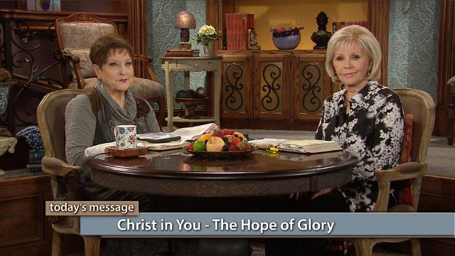 The glory of God has made you a new creation! Watch Gloria Copeland and Billye Brim on Believer's Voice of Victory as they discuss how the manifest presence of God comes in different degrees, and the hope we as the glorious Church have in Jesus Christ.
