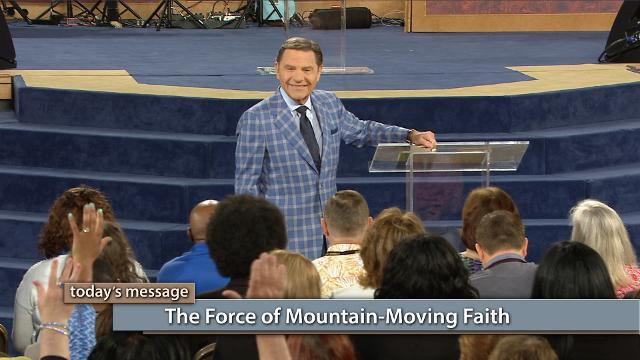 Mountain-moving faith is a spiritual force—it works the moment you release it! Watch Kenneth Copeland on Believer's Voice of Victory, as he explains how to become fluent in faith and take possession of God's promises!