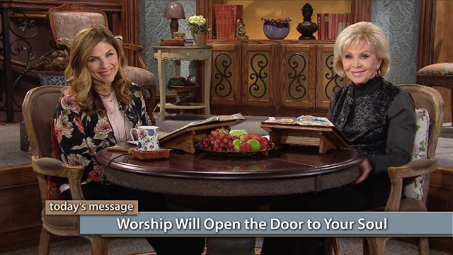 When we worship God, it is with our souls. Watch Gloria Copeland and Kellie Copeland on Believer's Voice of Victory to hear how worship will open the door to your soul so you can develop a deeper relationship with God and know Him more intimately as your Father.
