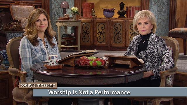 Don't let your cares and internal needs distract you from focusing on Jesus and His Word! Watch Gloria Copeland and Kellie Copeland on Believer's Voice of Victory as they share the wisdom of keeping your focus on the rich relationship you have with Jesus.