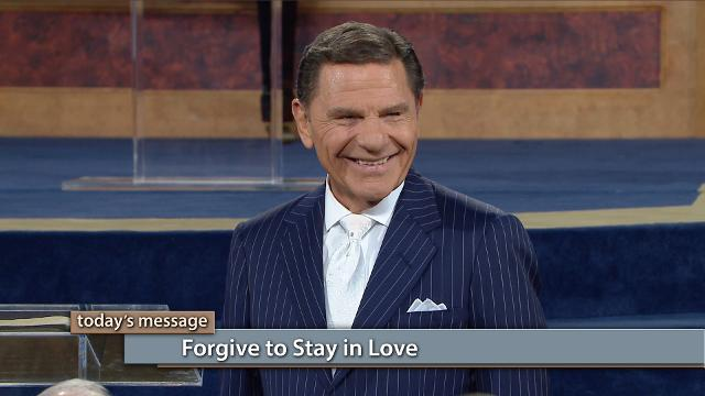 God wants us to love one another with intensity! How? Through immediate forgiveness. Watch Kenneth Copeland on Believer's Voice of Victory explain how forgiving is easy because it's a matter of decision, rather than feelings. Be quick to repent and forgive and you will stay in love!