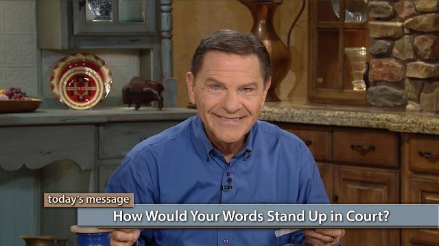 In a court of law, your words can either justify you or condemn you. But did you know the same is true spiritually? Watch Kenneth Copeland on Believer's Voice of Victory share how a righteous man speaks faith from his heart, while a person of unbelief will speak doubt. One brings a verdict of victory, while the other is left in a prison of fear.