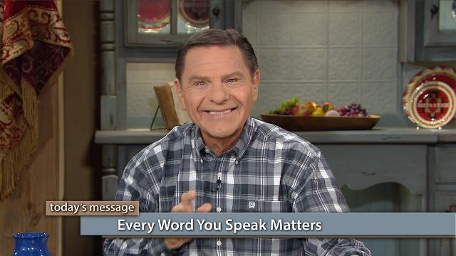 Do you know that what you say today is what you will have tomorrow? Watch Kenneth Copeland on Believer's Voice of Victory share how your words license either satan or Jesus to operate in your life. How can you be sure to speak the right words? Renew your mind with The WORD of God!