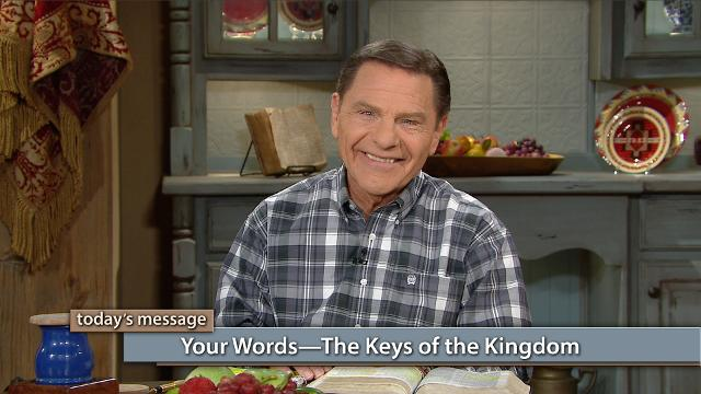 Do you have a need today? Your words are the keys that unlock the answers, but you must tame your tongue! Watch Kenneth Copeland on Believer's Voice of Victory explain how, with the help of the Holy Spirit, you can take the keys of the Kingdom by choosing to only speak faith-filled words.