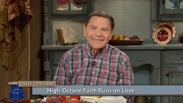 Do you want your faith-filled words to unleash power? Then, you'll require high-octane faith, which is fueled by love! Watch Kenneth Copeland on Believer's Voice of Victory as he uncovers how faith only works by love. So, trust in the love of God, show love for others and fuel your faith for victory!