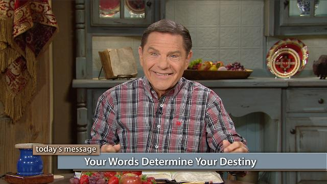 Do your words flip-flop? If you speak faith-filled words one day and fear-filled words the next, you won't accomplish what you want. Watch Kenneth Copeland on Believer's Voice of Victory share how we have the God-Anointed right to choose the words under which we live and determine our own destiny.