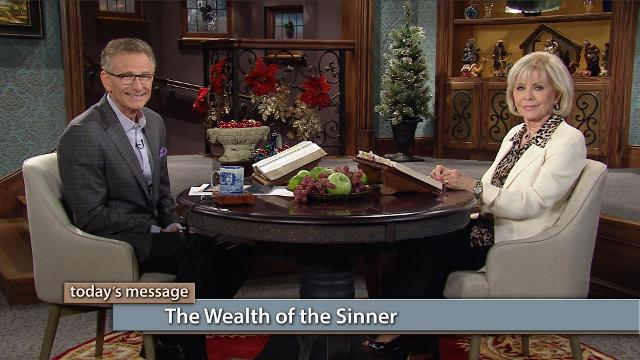 Prosperity is coming to believers like we've never seen before, and the source may surprise you! Watch Gloria Copeland and Pastor George Pearsons on Believer's Voice of Victory as they uncover the truth about what becomes of the wealth of the sinner. Supernatural wealth transfer is being funneled to you!