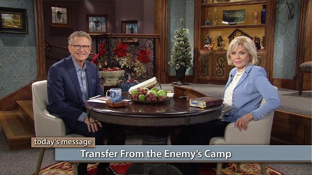 The supernatural wealth transfer is coming straight from the enemy's camp! Watch Gloria Copeland and Pastor George Pearsons on Believer's Voice of Victory as they share many examples in the Bible, of God transferring wealth straight into the hands of believers.