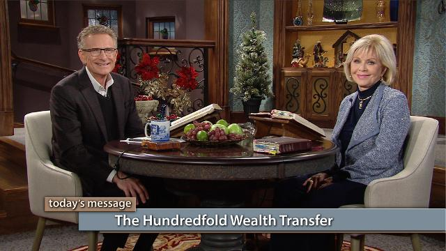 Reservoirs that have held the riches in days past are returning to the hands of the giver! Watch Gloria Copeland and Pastor George Pearsons on Believer's Voice of Victory as they discuss the hundredfold, supernatural wealth transfer, and how you can receive it when you walk in THE BLESSING.