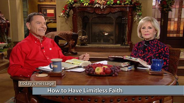Want to know how to have limitless faith? Watch Kenneth and Gloria Copeland on Believer's Voice of Victory as they share Partner testimonies that will stir your spirit and increase your faith. Learn how your spirit is tied to the kingdom of God, not the natural world. So, put The WORD to work!