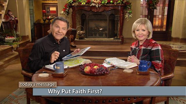 Why put faith first? Because faith changes everything! You can't be saved, live, walk, fight the good fight or overcome the world without it! Watch Kenneth and Gloria Copeland on Believer's Voice of Victory as they discuss how our lives are sustained with the force of faith, which is the power to change everything.
