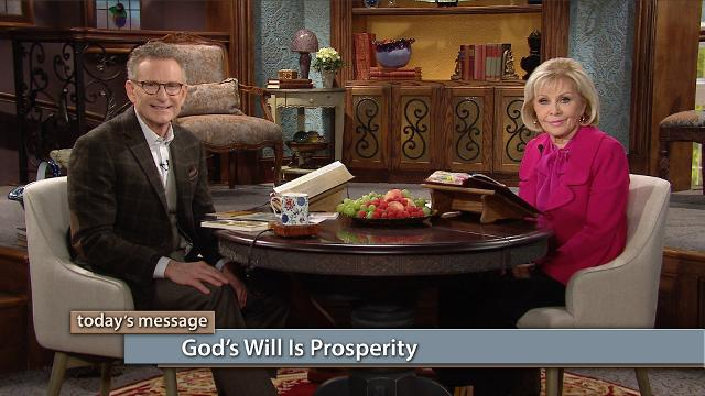 Happy New Year! Are you ready to enter into a new level of prosperity in 2018? Watch Gloria Copeland and Pastor George Pearsons on Believer's Voice of Victory as they teach how God's will is prosperity, and it has been from the very beginning. He is the same yesterday, today and forever, so prosperity belongs to you!