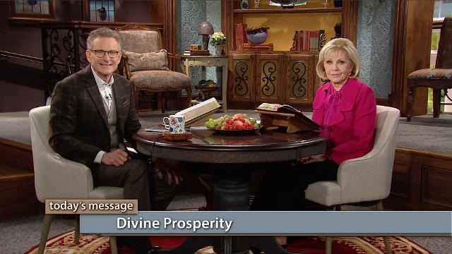 It's time to take authority over lack the same way you take authority over sickness! Watch Gloria Copeland and Pastor George Pearsons on Believer's Voice of Victory as they discuss how divine prosperity belongs to every believer. When you do right and say right—you'll walk it out!
