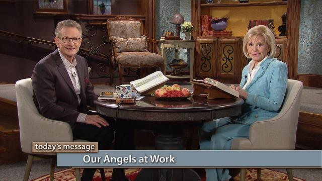 Are you putting your angels to work? Watch Gloria Copeland and Pastor George Pearsons on Believer's Voice of Victory as they explain how our angels at work are assigned to enforce THE BLESSING of Abraham to His seed—including you! Learn to use your words by putting them to work in your favor.