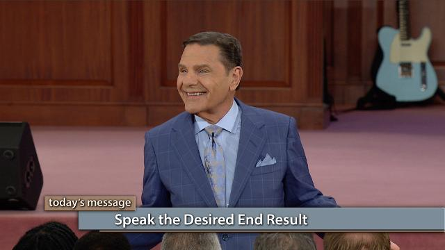The devil is a legalist! So, we need to follow the example Jesus set for us and only speak the desired end result. Watch Kenneth Copeland on Believer's Voice of Victory as he explains how the force of faith works and how it is released by your words. When you choose your words, you choose your future!